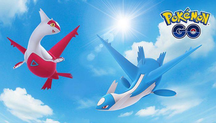 Pokémon: 'Latias and Latios Soar in Pokémon Go'