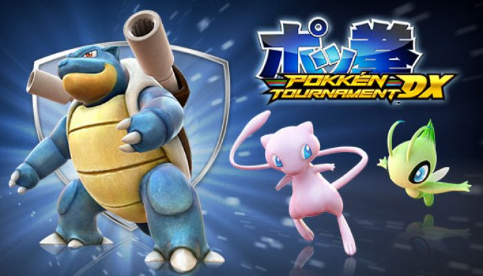 Pokémon: 'Blastoise Blasts into Pokkén Tournament DX!'