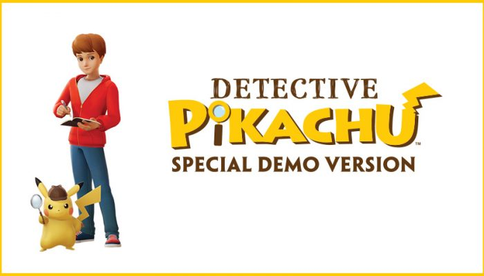 NoA: 'Free special demo version of the Detective Pikachu game!'