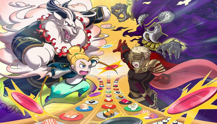 NoA: 'Win battles by…eating sushi? New game trailer details frenetic puzzle-action of Sushi Striker: The Way of Sushido'
