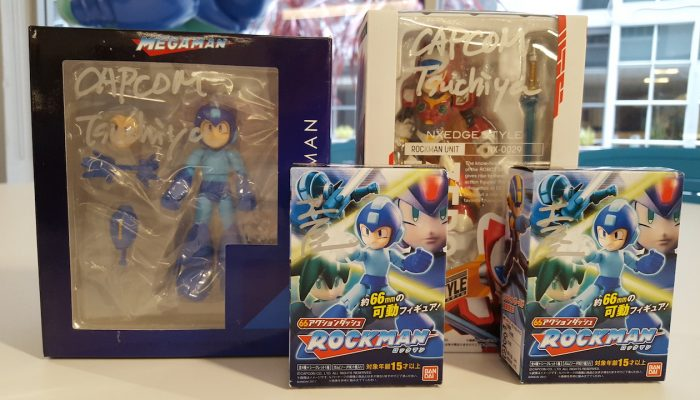Capcom: 'Get equipped with a stylish new Mega Man art contest – prizes signed by Mega Man 11 producer Kazuhiro Tsuchiya!'