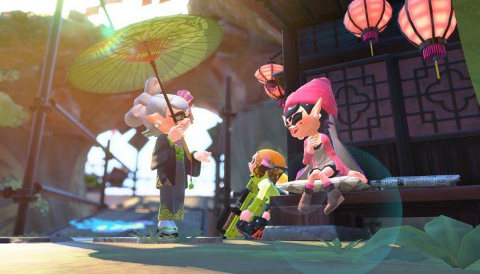 Nintendo France : 'Rapport du laboratoire de recherche sur les calamars : la version 3.0 du jeu est désormais disponible !'