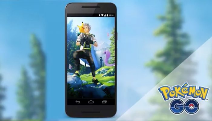 A behind-the-scenes look at the latest Pokémon Go loading screen