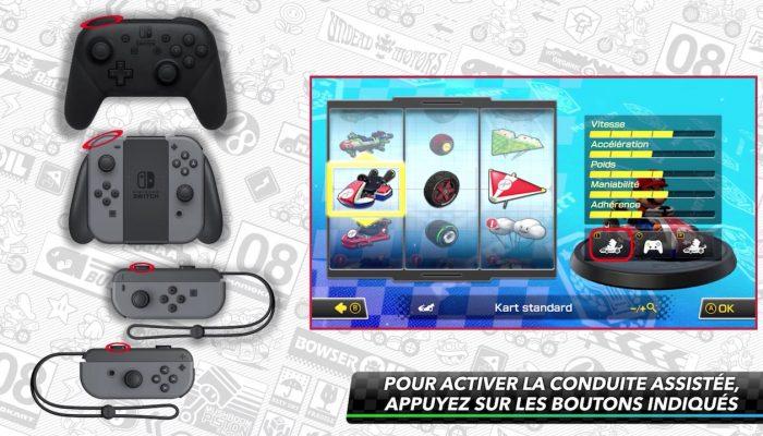 Mario Kart 8 Deluxe – Guide des options pratiques