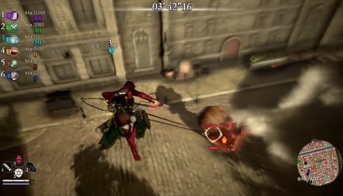 Attack on Titan 2 – Expulsion Mode (Free-For-All Mode)