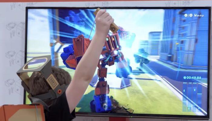 Nintendo Labo – 7 surprises que vous avez peut-être manquées !