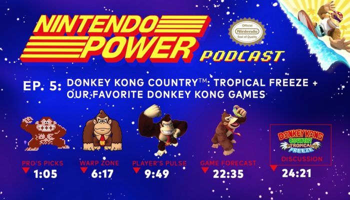 Nintendo Power Podcast Ep. 5 –  Donkey Kong Country: Tropical Freeze + Our Favorite Donkey Kong Games