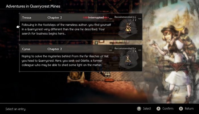Octopath Traveler – Paths of Ritual and Research Trailer