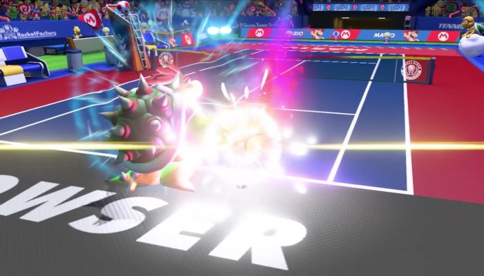 Mario Tennis Aces – Bande-annonce du tournoi en ligne de pré-lancement