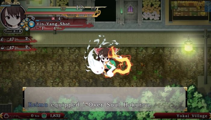 Touhou Genso Wanderer Reloaded – Gameplay Trailer