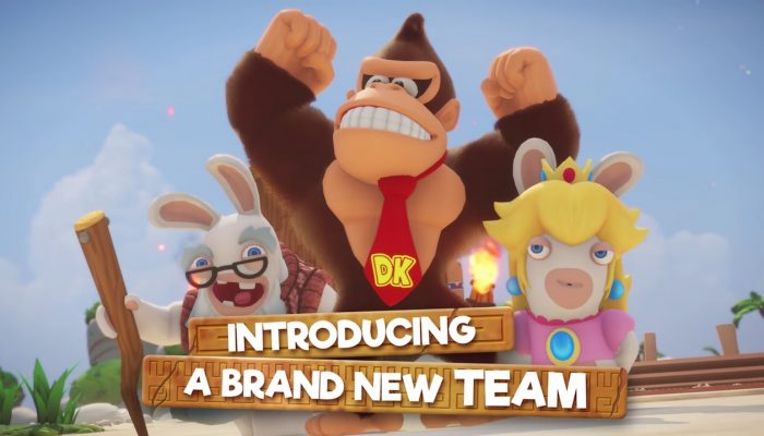Mario + Rabbids Kingdom Battle – Donkey Kong Adventure Gameplay Trailer