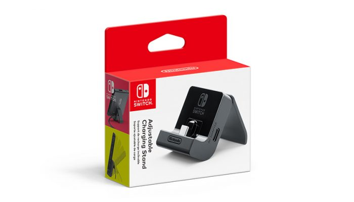 NoA: 'Nintendo announces new adjustable charging stand for Nintendo Switch'