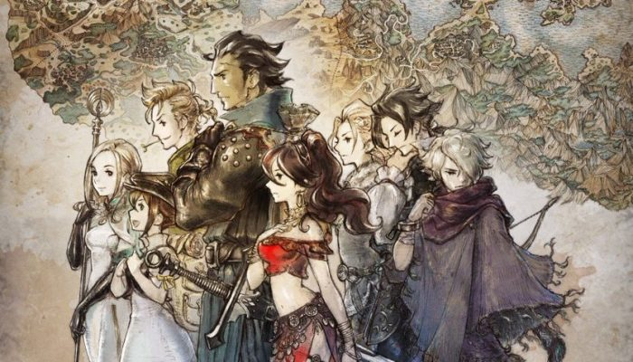 Here is the final box art for Octopath Traveler