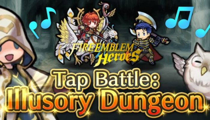 Tap Battle Illusory Dungeon Formidable Foes in Fire Emblem Heroes