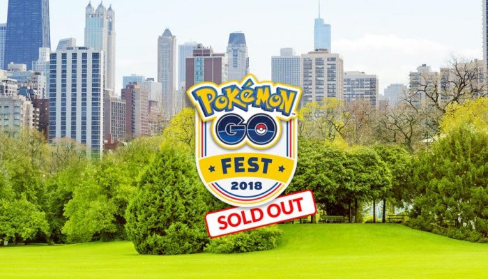 Pokémon Go Fest 2018 tickets are now sold out