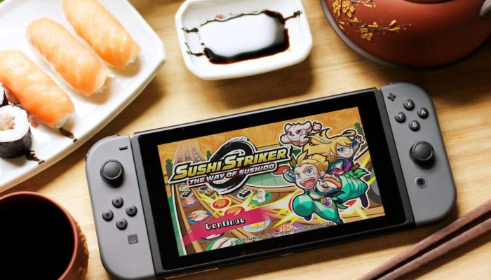 A Sushi Striker demo is now available on the Nintendo Switch eShop
