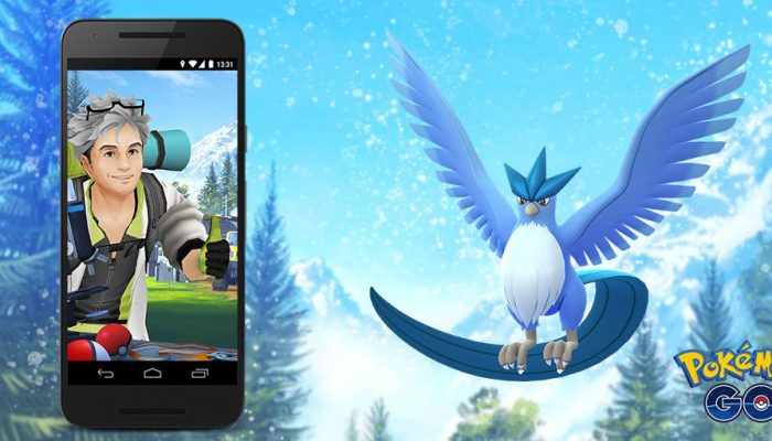 Articuno Field Research tasks begin June 1 in Pokémon Go