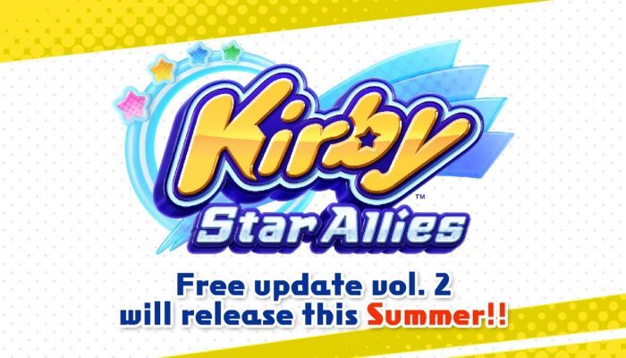 Kirby Star Allies's second free update drops this summer