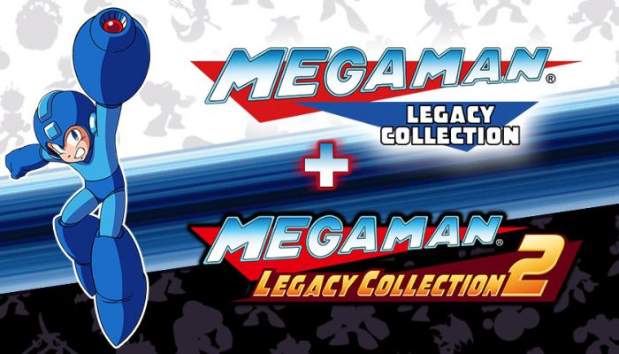 NoA: 'Relive Mega Man's classic adventures with these two collections!'