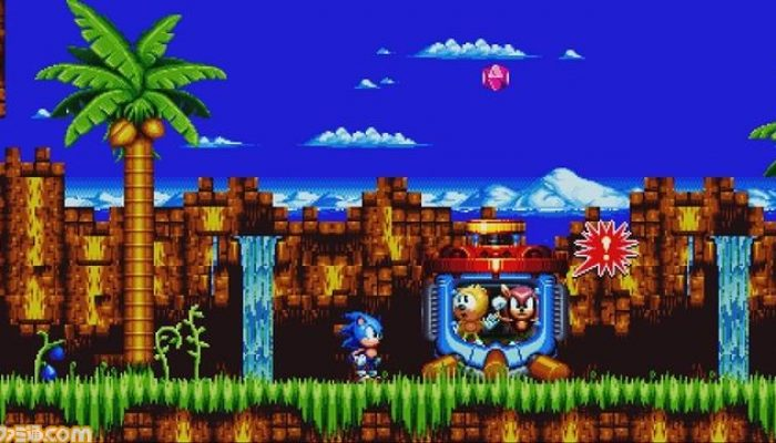 Sonic Mania Plus – Art and Gameplay Screenshots from Famitsu