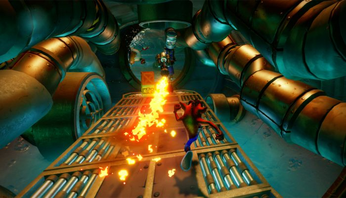 Crash Bandicoot N. Sane Trilogy available for pre-purchase on the Nintendo Switch eShop