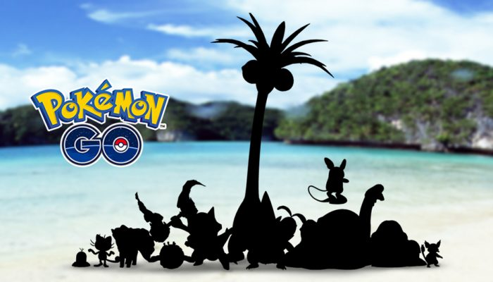 Niantic: 'Alolan Forms of Pokémon Originally Discovered in the Kanto Region Are Coming to Pokémon Go!'