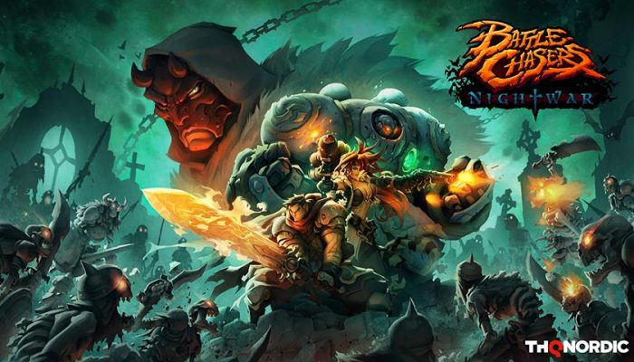 NoA: 'Classic RPG action returns in Battle Chasers: Nightwar!'