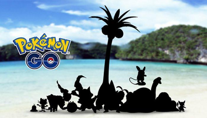 """Pokémon: 'Say """"Alola"""" to Pokémon Go!'"""