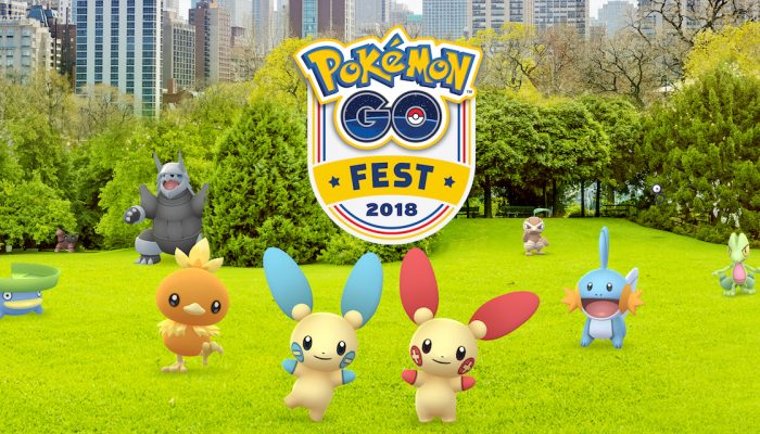Niantic: 'Take a Walk in the Park at Pokémon Go Fest 2018 in Chicago!'