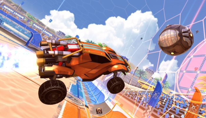 Rocket League: 'Salty Shores Update: Rocket League Hits The Beach On May 29'