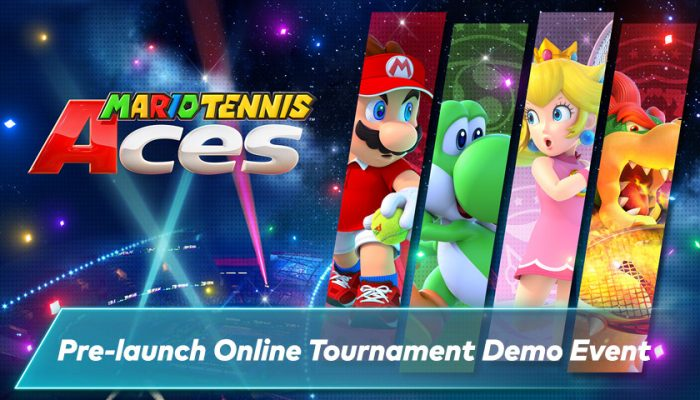 NoA: 'Mario Tennis Aces demo event and pre-purchase offer'