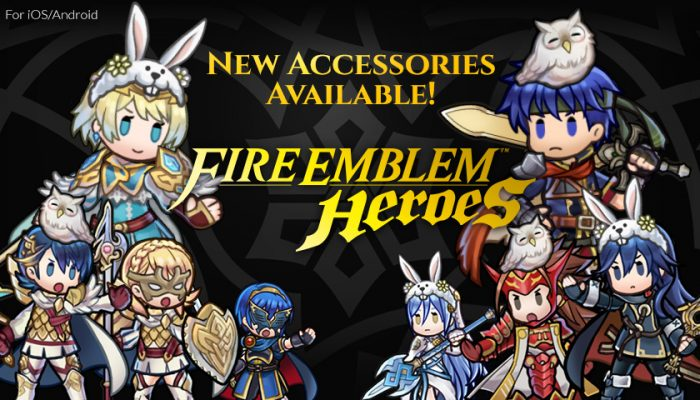 NoA: 'Hero accessories and version 2.6.0 updates for Fire Emblem Heroes'