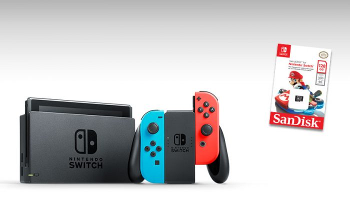 NoA: 'Get a great deal on a Nintendo Switch system plus Memory Card'