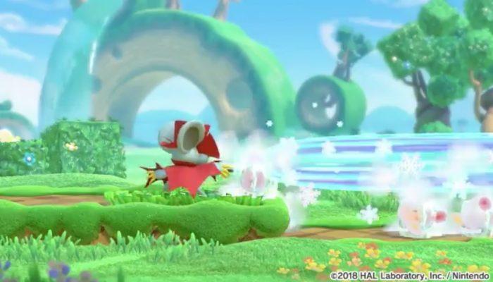 Daroach gameplay in Kirby Star Allies