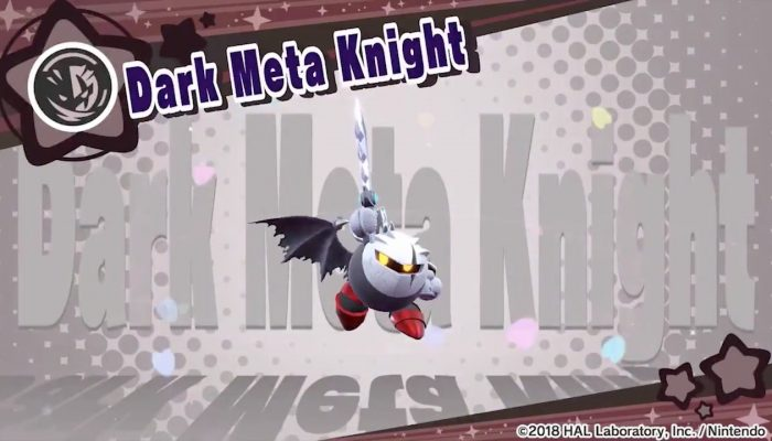 Dark Meta Knight is coming to Kirby Star Allies