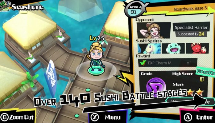 Sushi Striker: The Way of Sushido – How to Play