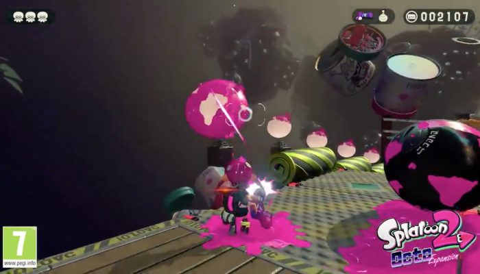 Another 8-Ball challenge in Splatoon 2 Octo Expansion