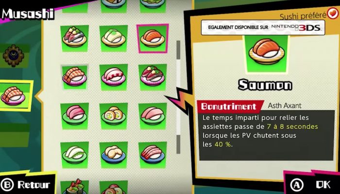 Sushi Striker : The Way of Sushido – Publicité Devenez le meilleur sushiste !