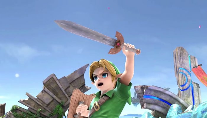 Super Smash Bros. Ultimate – Young Link Fighter Showcase