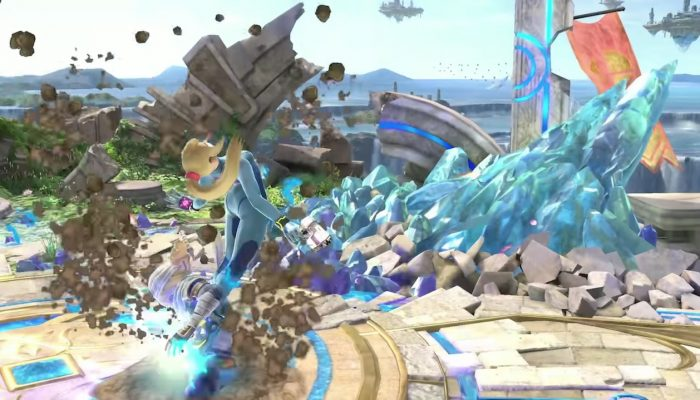 Super Smash Bros. Ultimate – Zero Suit Samus Fighter Showcase