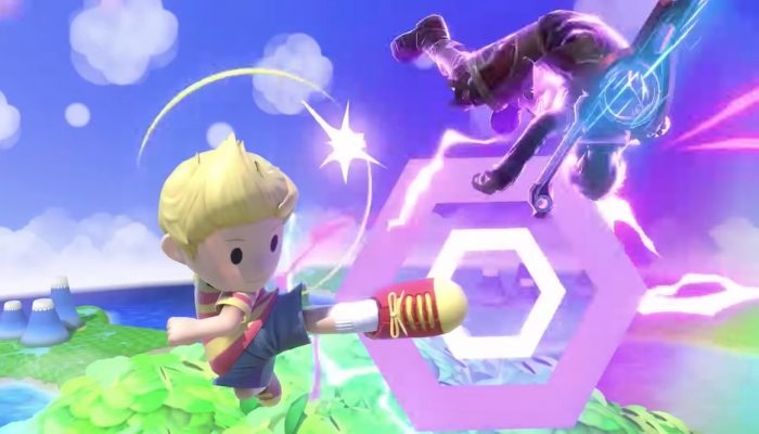 Super Smash Bros. Ultimate – Lucas Fighter Showcase