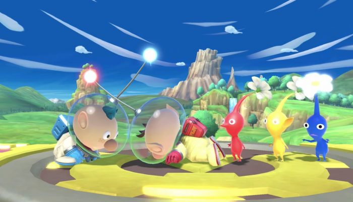Super Smash Bros. Ultimate – Olimar Fighter Showcase