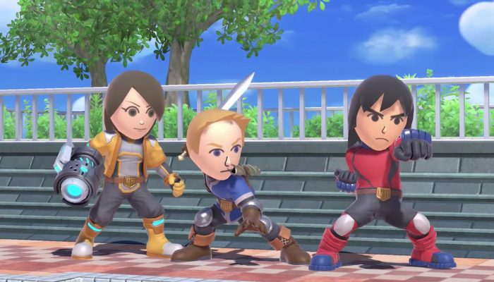 Super Smash Bros. Ultimate – Mii Fighter Showcase