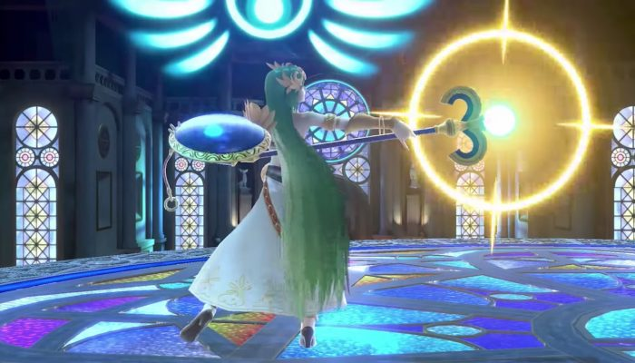 Super Smash Bros. Ultimate – Palutena Fighter Showcase