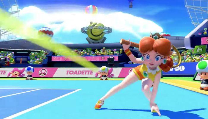 Mario Tennis Aces – Nouvelles publicités françaises
