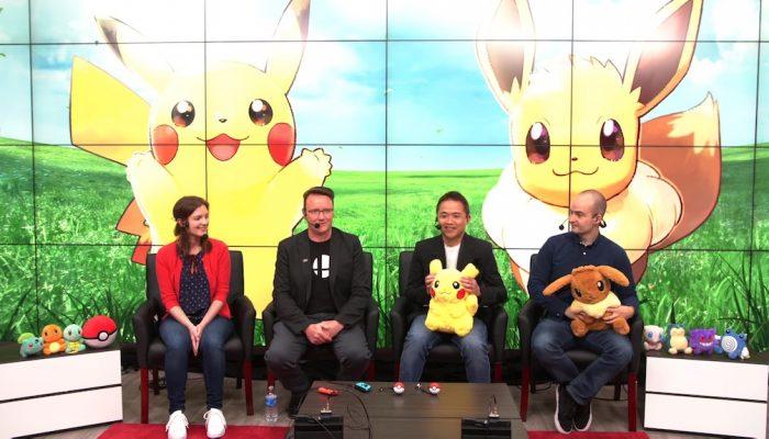 Pokémon: Let's Go, Pikachu! & Let's Go, Eevee! – Nintendo Treehouse Live E3 2018