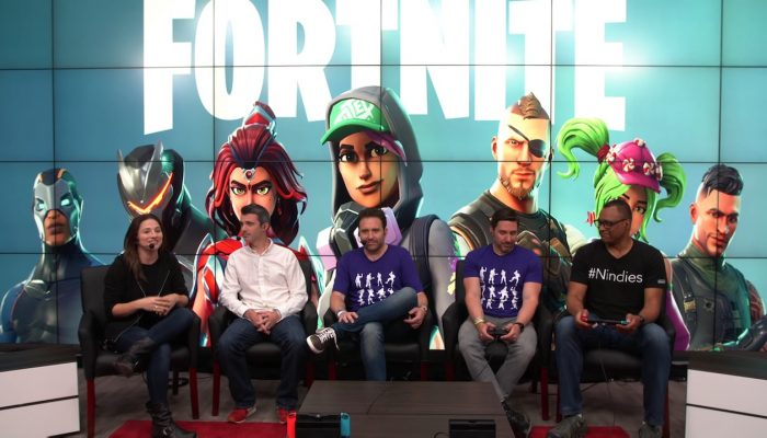 Fortnite – Nintendo Treehouse Live E3 2018
