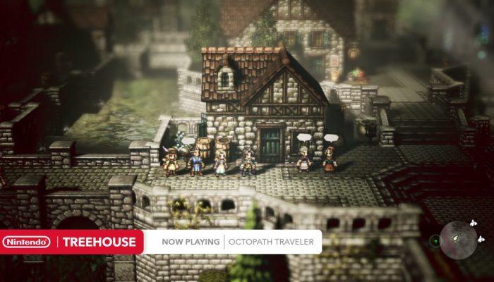 Octopath Traveler – Nintendo Treehouse Live E3 2018