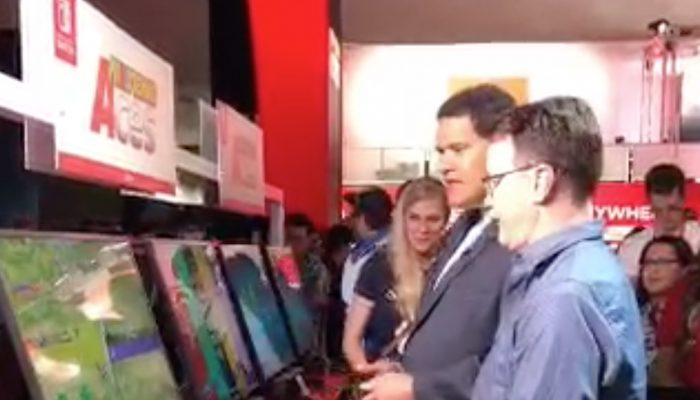 Reggie vs. Bill Trinen. E3 2018.
