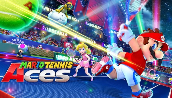 NoA: 'Mario Tennis Aces smashes onto the court!'